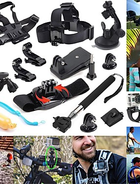 cheap Sports & Outdoors-Sports Action Camera Handlebar Mount Tripod Multi-function Foldable Adjustable 1 pcs For Action Camera Gopro 6 All Gopro Gopro 5 Xiaomi Camera Gopro 4 Diving Surfing Ski / Snowboard Synthetic Cotton