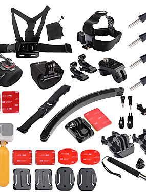 cheap Sports & Outdoors-Accessory Kit For Gopro Multi-function Foldable Adjustable 1 pcs For Action Camera Gopro 6 Gopro 5 Xiaomi Camera Gopro 4 Gopro 4 Silver Diving Surfing Ski / Snowboard PVC(PolyVinyl Chloride / SJCAM