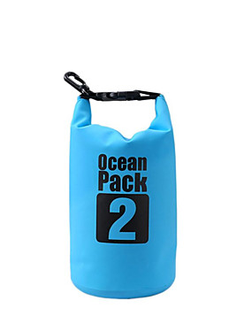 cheap Sports & Outdoors-2 L Waterproof Dry Bag Waterproof Floating Lightweight for Swimming Diving Surfing