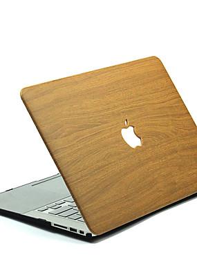 cheap Computer & Office Clearance-MacBook Case wood grain Polycarbonate for MacBook 12'' / MacBook 13'' / MacBook Air 11''