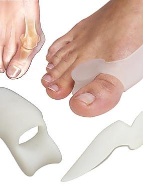 levne Ostatní díly-Silikon Nástroj na nehty toe separátory Pro toe Other Odolné nail art manikúra pedikúra Přizpůsobeno / Klasické Denní