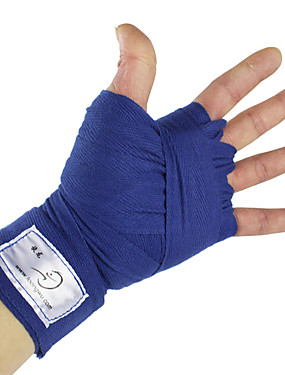 cheap Sports & Outdoors-Hand Wraps For Boxing, Karate, Martial Arts, Muay Thai Adjustable, Joint support, Breathable Cotton Unisex Black / Blue / Red