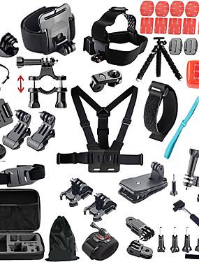cheap Sports & Outdoors-Outdoor Hot Sale 1 pcs For Action Camera Gopro 6 All Gopro Gopro 5 Xiaomi Camera Gopro 4 Camping / Hiking Ski / Snowboard Universal / SJCAM / SJ4000 / SJCAM SJ5000X / SJCAM / SJCAM SJ5000X