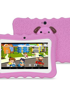 preiswerte Säuglingspflege-M711 7 Zoll Android Tablet (Android 4.4 1024 x 600 Quad Core 512MB+4GB) / 32 / TFT / Micro-USB / TF Kartenschlitz / Kopfhörer-Stecker 3.5mm