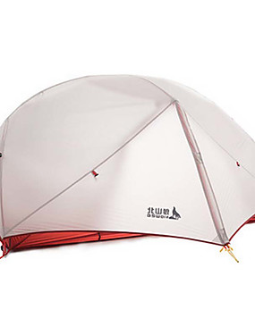 cheap Sports & Outdoors-BSwolf 2 person Backpacking Tent Outdoor Waterproof Lightweight Rain Waterproof Double Layered Camping Tent 2000-3000 mm for Camping / Hiking Terylene Aluminium
