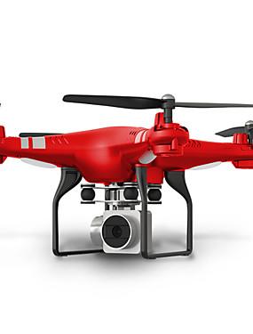 preiswerte Ausverkauf-RC Drohne SHR / C HR SH5 RTF 4 Kan?le 6 Achsen 2.4G Mit HD - Kamera 2.0MP 720P Ferngesteuerter Quadrocopter FPV / LED-Lampen / Ein Schlüssel Für Die Rückkehr Ferngesteuerter Quadrocopter / Schweben