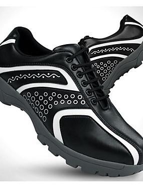 preiswerte Schlägersportarten-Herrn Golfschuhe Golf Polsterung Moderner Stil Stilvoll Golfspiel Ganzjährig Schwarz Weiß