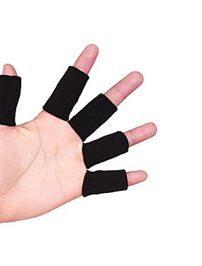 cheap Sports & Outdoors-Baseball & Softball Batting Gloves Sewing Tools & Equipment for Racing Badminton Basketball Half Finger Washable Easy dressing Elastane Rubber Tactel 100 pair / box Athletic Sport Casual Black Ivory