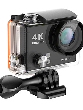 cheap Sports & Outdoors-QQT H2R vlogging Outdoor / Portable / All-In-1 64 GB 60fps / 120fps / 30fps 16 mp 8x 1280x960 Pixel 2 inch CMOS H.265 Single Shot 45 m -1/3
