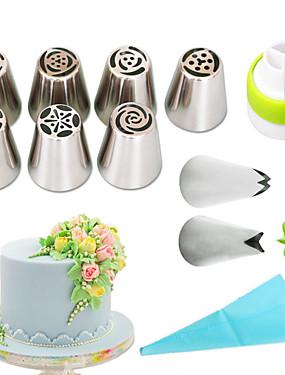 preiswerte Schönen Muttertag-1 set Edelstahl + A Stufe ABS Umweltfreundlich Für den täglichen Einsatz Kuchenformen Backwerkzeuge