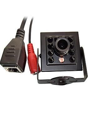 preiswerte HQCAM-720p 1.0mp onvif cctv ip kamera hi3518e ir nachtsicht 1/4 h62 cmos mini 940nm 10 stücke leds