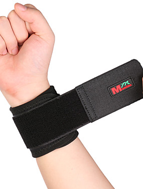cheap Sports & Outdoors-Hand & Wrist Brace Wrist Support Wrist Protection for Hiking Climbing Badminton Adjustable Stretchy Breathable Nylon Rubber 1pc Sports Athleisure