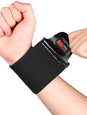 cheap Sports & Outdoors-Hand & Wrist Brace Wrist Support Wrist Protection for Hiking Climbing Badminton Adjustable Stretchy Breathable Nylon Rubber 1pc Sports Athleisure Black