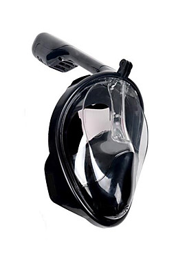 cheap Sports & Outdoors-Fonoun Diving Mask Full Face Mask Underwater 180 Degree View Anti Fog Professional Single Window - Swimming Diving Scuba For Adults Black