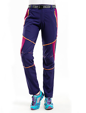cheap Sports & Outdoors-Women's Hiking Pants Patchwork Summer Outdoor Waterproof Windproof UV Resistant Breathable Pants / Trousers Bottoms Running Camping / Hiking Hunting Pink / Purple Black Purple S M L XL XXL