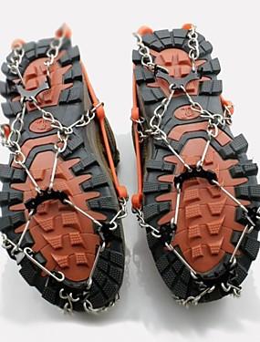 preiswerte Skis, Snowboards & Schneeschuhe-Schnee Stollen Steigeisen Outdoor Nicht rutschig Metalllegierung Gummi Metal Klettern Outdoor Übungen Orange