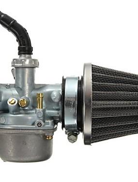 cheap Carburetors-PZ19 Carburetor Carb and 35mm Air Filter for 50cc 70cc 80cc 90cc 110cc 125cc Dirt Pit Bike Taotao Honda CRF ATV Scooter Moped Go karts