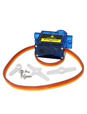 preiswerte Unterhaltungselektronik-1 stücke keyestudio mini 9g servomotor 23 * 12,2 * 29mm blau für arduino roboter