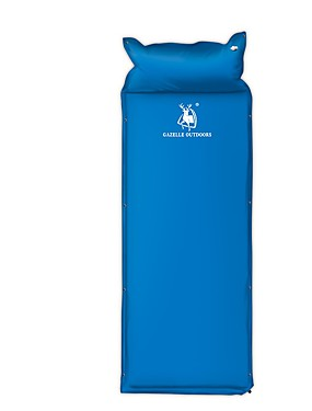 cheap Sports & Outdoors-HUILINGYANG Sleeping Pad Self-Inflating Sleeping Pad Outdoor Camping Thick Inflated Thicken Camping / Hiking Fishing Beach for 1 person All Seasons Blue