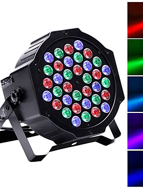 cheap Musical Instruments-U'King LED Stage Light / Spot Light / LED Par Lights DMX 512 / Master-Slave / Sound-Activated 36 W for Party / Stage / Wedding Professional