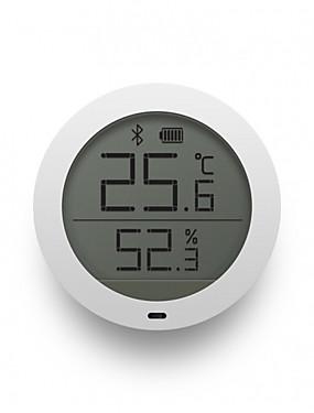 お買い得  Xiaomi各種アクセサリ-xiaomi mijia bluetooth温度湿度センサー液晶画面デジタル温度計水分計スマートmiホームアプリリアルタイムモニタリングウォールステッカー