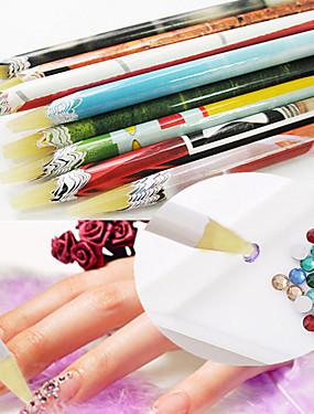 levne tečkování nástroje-1ks tečkování nástroje Pro Lehká pevnost a trvanlivost nail art manikúra pedikúra Jedinečný design / Klasické Denní
