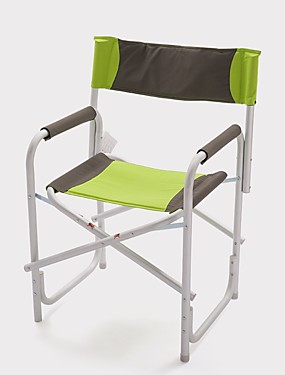 cheap Sports & Outdoors-Fishing Chairs Camping Chair Portable Foldable Folding Aluminium alloy for Fishing Camping BBQ Autumn / Fall Spring Green