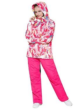 cheap Sports & Outdoors-Wild Snow Women's Ski Jacket Ski / Snowboard Multisport Snowsports Windproof Warm Ventilation Polyester Clothing Suit Ski Wear / Winter