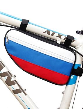 cheap Sports & Outdoors-Fonoun 25 L Bike Frame Bag Top Tube Top Tube Bag Triangle Bag Waterproof Quick Dry Wearable Bike Bag Polyester Taffeta Bicycle Bag Cycle Bag Cycling / Bike / Waterproof Zipper