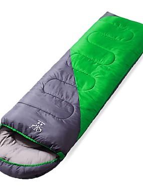 cheap Sports & Outdoors-Sheng yuan Sleeping Bag Outdoor Camping Double Wide Bag Envelope / Rectangular Bag 20 °C Single Hollow Cotton Windproof Warm Folding Autumn / Fall Winter for Camping / Hiking Camping / Hiking