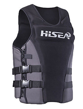 cheap Sports & Outdoors-HISEA® Life Jacket Lightweight Materials Neoprene Swimming Diving Snorkeling Top for Adults / Stretchy / Beach