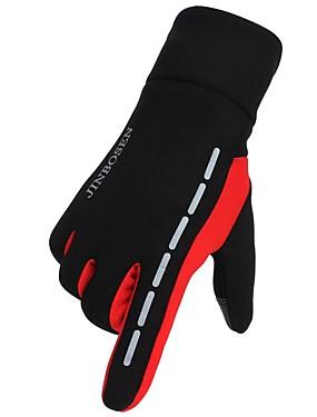 preiswerte Handschuhe zum Laufen-Vollfinger Winter Sport Angeln / Sporthandschuhe / Laufen Kohlefaser