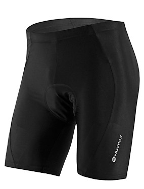 cheap Sports & Outdoors-Nuckily Men's Women's Cycling Padded Shorts Bike Shorts Jersey Pants Breathable Anatomic Design Ultraviolet Resistant Sports Solid Color Elastane Black Mountain Bike MTB Road Bike Cycling Clothing