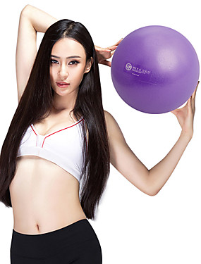"""cheap Sports & Outdoors-9"""" (23 cm) Exercise Ball / Fitness Ball / Yoga Ball Explosion-Proof PVC(PolyVinyl Chloride) Support With For Yoga / Training / Balance"""