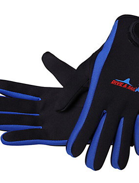 cheap Sports & Outdoors-Dive&Sail Diving Gloves 1.5mm Neoprene Neoprene Wetsuit Gloves Anti-skidding Diving Surfing Boating