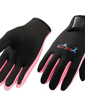 cheap Sports & Outdoors-Bluedive Diving Gloves Sports Gloves Fishing Gloves 1.5mm Nylon Neoprene Water Sports Gloves Tactical Warm Quick Dry Diving Hunting Fishing / Kid's