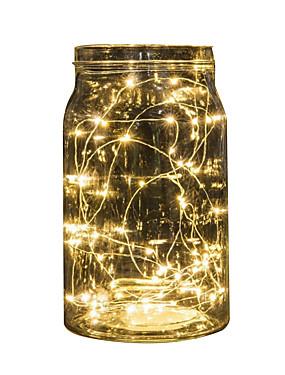 preiswerte Haus & Garten-2m Schnur beleuchtet 20 LED Multi Farbe Party Urlaub Weihnachten Hochzeit Dekoration Batterie