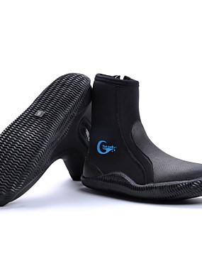 cheap Sports & Outdoors-YON SUB Men's Women's Neoprene Boots 5mm Synthetic Neoprene Anti-Slip Diving Surfing Snorkeling Aqua Sports - for Adults