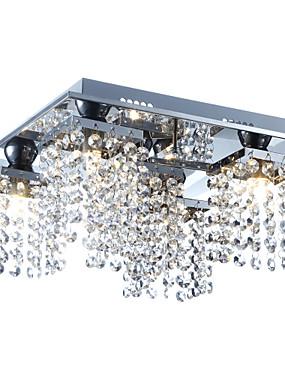 preiswerte Haus & Garten-Lightinthebox 5-Licht Kristall Unterputz Raumbeleuchtung Galvanisierung Metall Kristall 110-120V / 220-240V Inklusive Glühbirne / G9