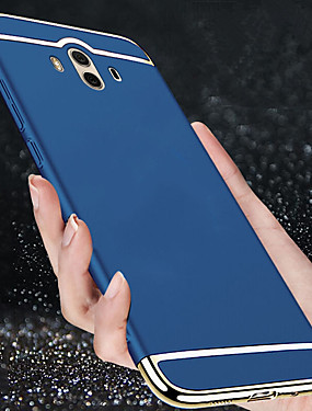 cheap Huawei Case-Case For Huawei Mate 10 / Mate 10 pro / Mate 9 Shockproof / Ultra-thin Full Body Cases Solid Colored Hard Plastic / Mate 9 Pro
