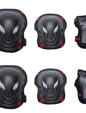 cheap Sports & Outdoors-Knee Pads + Elbow Pads + Wrist Pads for Inline Skates / Hoverboard / Roller Skates Breathable / Protective 6 pack