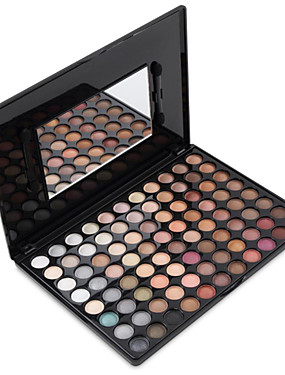 cheap Discount Makeup-88 Colors Eyeshadow Eyeshadow Palette Powders Matte Matte Shimmer Glitter Shine smoky Daily Makeup Smokey Makeup Cosmetic Gift