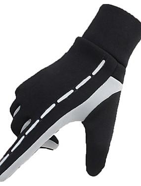 preiswerte Handschuhe zum Laufen-Vollfinger Winter Sport Angeln Lycra