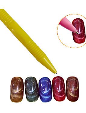 levne Ostatní díly-5 Nástroj na nehty Nástroje na nehty Nástroje na malování nehtů Pro Nehet na ruce Nehet na noze Více stínítek / Odolné nail art manikúra pedikúra Přizpůsobeno / Neon & Bright Denní