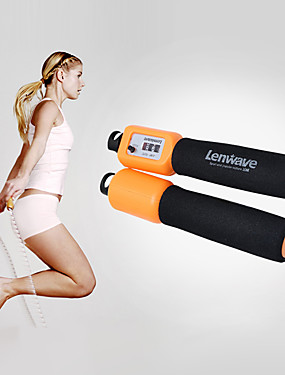 cheap Sports & Outdoors-Jump Rope / Skipping Rope Nylon Portable Speed Electronic Anti Slip Multifunction Durable Crossfit Weight Loss Training Boxing Exercise & Fitness Gymnatics For Men Women Sports Outdoor
