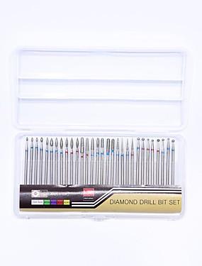 levne Manikúra a pedikúra nástroje-30ks Umělé tipy na nehty Nail Art Files & Buffers Nástroj na nehty Pro prst toe Každodenní použití Odolné nail art manikúra pedikúra Profesionální / Vysoká kvalita / Cute Style