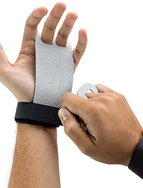 cheap Sports & Outdoors-Protective Gear Hand Grips Hand & Wrist Brace Genuine Leather Protection Lightweight Training Slip Resistant Exercise & Fitness Gym Workout Gymnatics For Unisex Athletic Performance