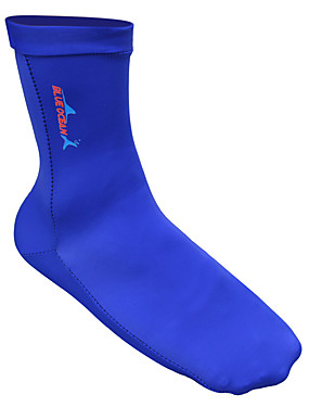 cheap Sports & Outdoors-Bluedive Men's Women's Neoprene Socks 1mm Neoprene Breathable Quick Dry High Strength Softness Barefoot Swimming Diving Surfing Snorkeling Beach Boating - for Adults / Patchwork