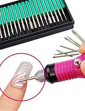levne Manikúra a pedikúra nástroje-30ks Nástroj na nehty Brusná hlava na nehty Nail Art Drill Kit Pro Módní design / Odolné nail art manikúra pedikúra Profesionální / Scrub sady / Cute Style Denní nošení / Trénink