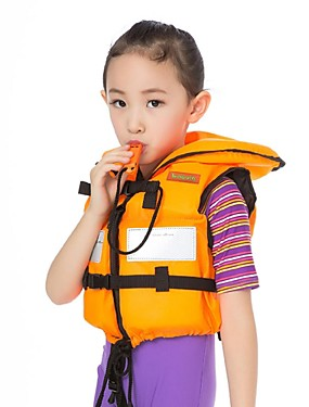 cheap Sports & Outdoors-Life Jacket Swimming Nylon EPE Foam Diving Surfing Snorkeling Top for Kids Baby